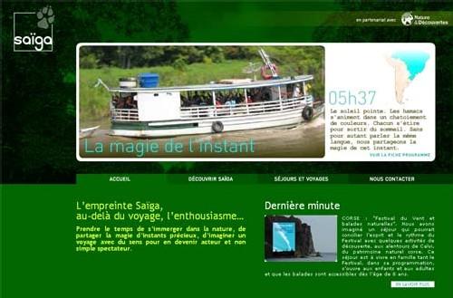 I - Saïga : « Rendre les pratiques touristiques plus responsables... »