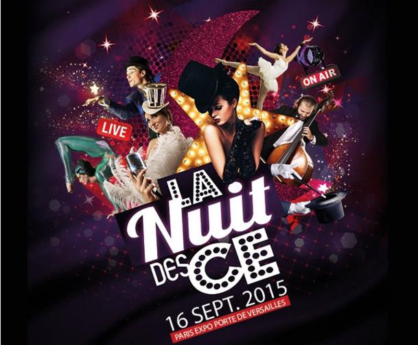 SalonsCE organisera le 16 septembre prochain la Nuit des CE pour présenter le meilleur des spectacles parisiens en avant-première - DR