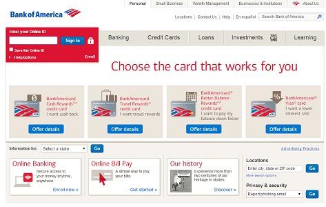 Bank of America veut aider les voyageurs d'affaires à optimiser leurs dépenses en déplacements - Capture d'écran