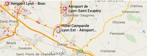 Le parking Easypark Lyon sera situé sur la commune de Saint-Laurent de Mure - DR