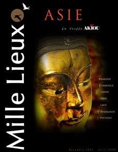 La toute première brochure Mille Lieux sur l'Asie... avec  la griffe Akiou