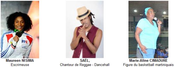 """Martinique : 2 sportives et un chanteur rejoignent les """"Ambassadeurs de la Martinique"""""""