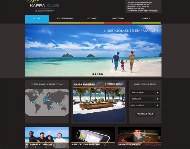 La deuxième vie des Kappa Clubs prend un véritable essor en 2015. Cette marque endormie tient désormais une importance particulière dans la production balnéaire de NG Travel - DR : Capture d'écran Kappa Club