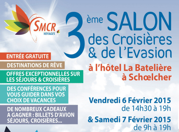 This weekend, in Martinique, will take place the 3rd edition of the fair around the country's cruises and escapes DR : SMCR Voyages