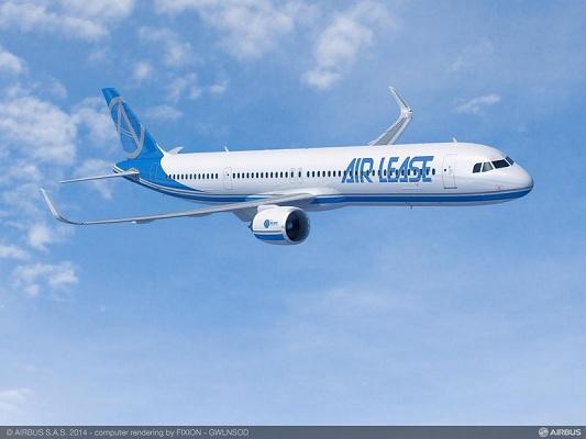Asiana Airlines achètera 25 A321neo entre 2019 et 2025 - Photo Airbus S.A.S 2014