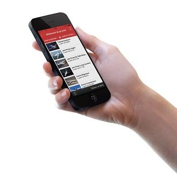 L'application mobile de PrivateFly est disponible en France - DR : PrivateFly