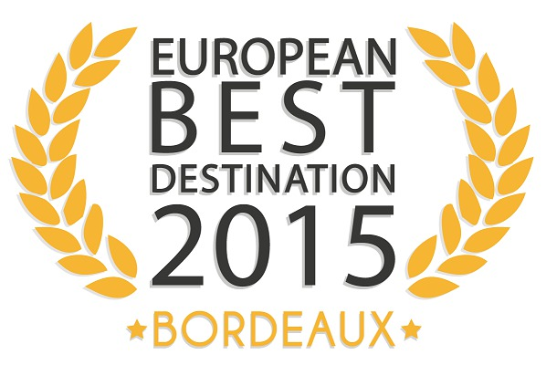 "Bordeaux remporte le titre de ""European Best Destination 2015"""