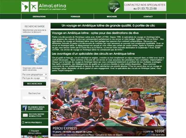 Alma Latina lance un jeu concours pour les agents de voyages