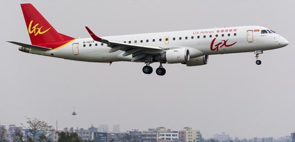 GX Airlines opère en Chine depuis le 13 février 2015 - DR : LoChing Mung planespotters.net