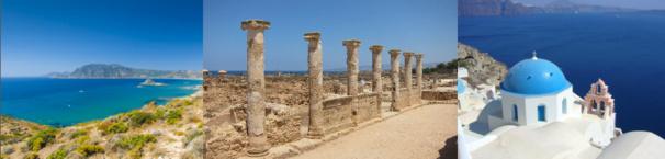 Héliades renforce sa desserte de Santorin, Rhodes et Paphos au départ de 7 villes en France pour l'été 2015 - DR : Héliades