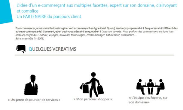 Partenaire multi-tâches, le e-commerçant va devoir multiplier ses services et renforcer la qualité de ses offres. © SNCF et CSA