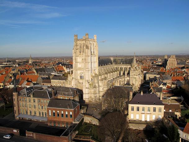 La cathédrale de Saint-Omer est l'une des plus belles du Nord, avec celle d'Amiens - DR : OT de St Omer