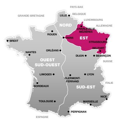 Les perturbations concerne le trafic de la SNCF à l'Est de Paris - DR : SNCF