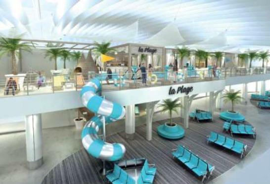 SSP et Relay France vont opérer sur une vingtaine de points de vente restauration à l'aéroport Nice-Côte d'Azur - Photo Aéroports de la Côte d'Azur