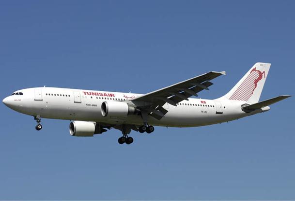 Tunisair espère un retour à l'équilibre financier en 2015, notamment grâce à une présence accrue sur des destinations africaines et du Moyen-Orient - DR : Aldo Bidini, Wikipedia