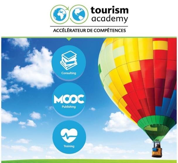 """"""" Nous ciblons en priorité les professionnels du tourisme ayant compris que la première richesse de l'entreprise sont ses ressources humaines"""" - DR : Tourism Academy"""