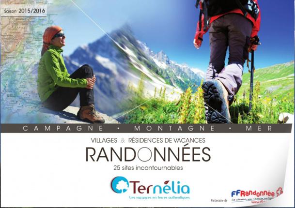 Brochure randonnées 2015 à consulter en ligne sur Brochuresenligne.com - DR