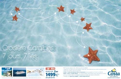 Costa Croisières : 100 000 Euros de matériel de communication pour les agences