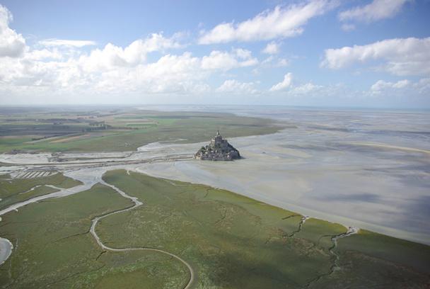 La Marée du siècle promet d'être spectaculaire dans la baie du Mont Saint-Michel - DR : J-F.R.