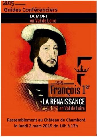 Les guides-conférenciers se réuniront lundi 2 mars devant la Château de Chambord de 14h00 à 17h00 - DR