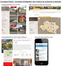 Cliquer pour agrandir - Exemple d'intégration d'Auvergne Search - (c) CRDTA