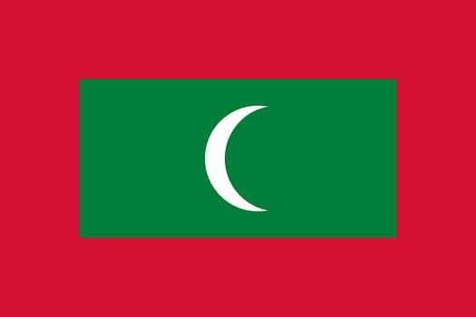 Drapeau des Maldives - DR - Nightstallion