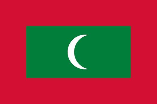 Drapeau des Maldives - DR - Nightstallion
