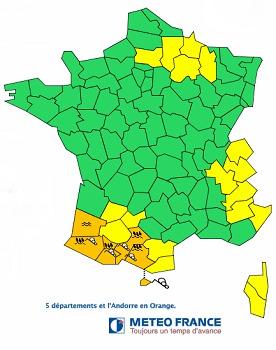 Les risques d'avalanche sont importants dans les Pyrénées - DR : Météo France