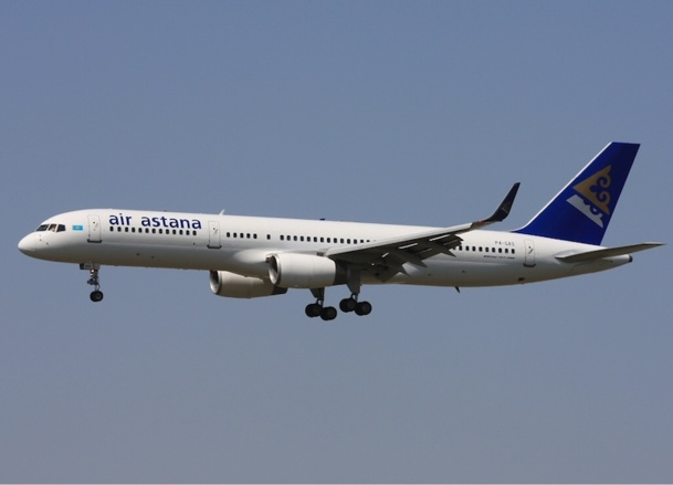 Air Astana will fly from Paris three times a week. - Photo DR