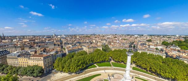 Vue panoramique de Bordeaux - DR : Bordeaux Tourisme et Congrès