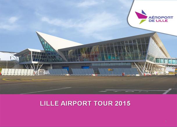 L'aéroport de Lille organise son premier roadshow régional