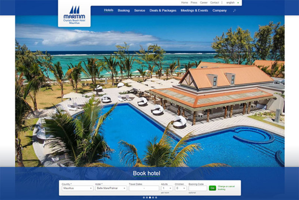 The couple and their daughter were staying at the Maritim Crystals Beach Hotel according to a local news source - DR : Crystals Beach Hotels