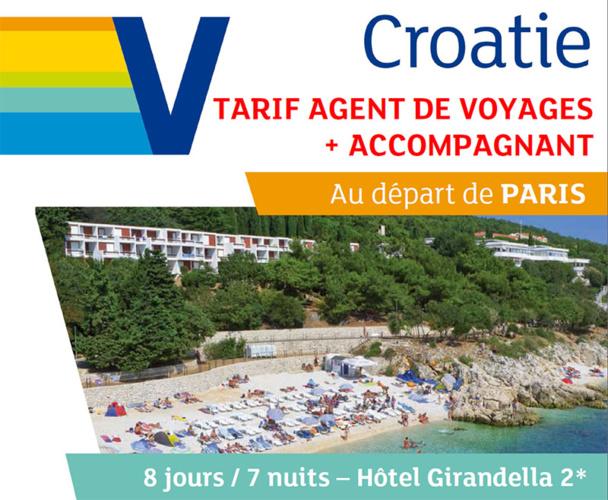Visit Europe lance une offre agent de voyages en Croatie