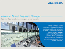 Optimisation des ressources : l'aéroport de Munich adopte Airport Sequence Manager d'Amadeus