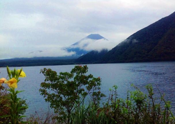 Le Fuji Yama, classé au patrimoine de l'Unesco culmine à à 3776 mètres /photo JDL