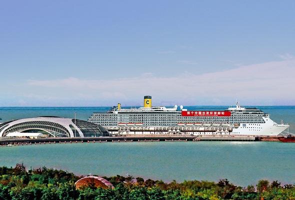 1 000 passagers ont embarqué à bord de l'Atlantica pour ce premier Tour du Monde dédié au marché chinois par Costa Croisières - Photo Costa Croisières