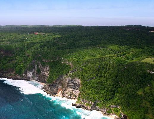 Le resort de Six Senses sera situé au sommet d'une falaise avec une vue plongeante sur l'Océan - DR : Six Senses
