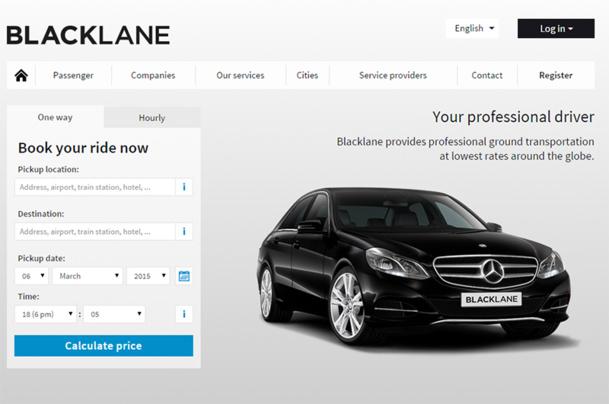 Blacklane permet de réserver les transferts au départ et à destination des aéroports, des hôtels ou de tout autre lieu - DR : Blacklane