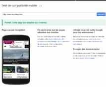 Google a mis en ligne un outil pour tester votre site et un guide pour l'optimiser - DR : Capture d'écran Google