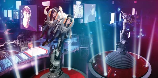 On y danse avec les robots.