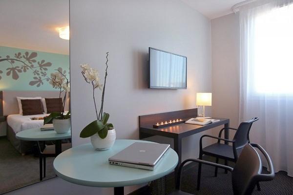 L'Appart'City Montpellier Ovalie 2 compte 41 appartements de 1 à 4 personnes - DR : Park & Suites