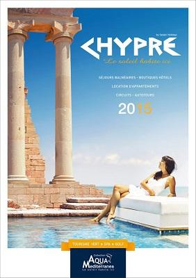 La couverture de la brochure Chypre 2015 d'Aqua Mediterranea - DR : Salaün Holidays