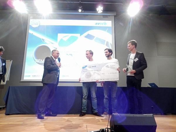 Le Premier Prix du Challenge a été remis à STerblue - Photo DR