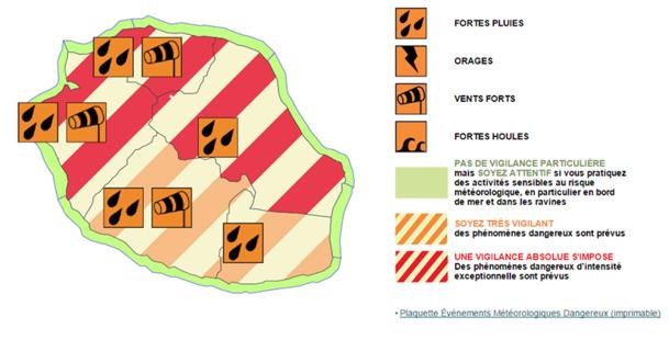 Tempête Haliba : La Réunion en vigilance renforcée