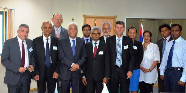 La première réunion du comité régional des aviations civiles nationales de la COI,  s'est tenue à l'Ile Maurice les 4 et 5 mars 2015 - DR : COI