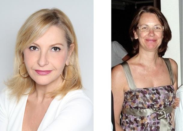 Louisa Rouar (à gauche) chez Jet tours et Godeleine Vérin (à droite) chez TUI France - Photos DR