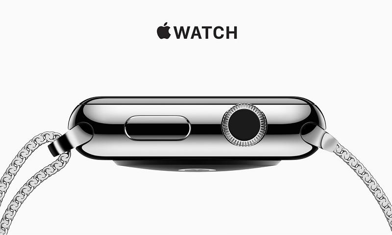 L'Apple Watch fait du bruit bien qu'elle ne soit qu'une montre connectée comme les autres. Pourquoi ? DR Capture d'écran Apple
