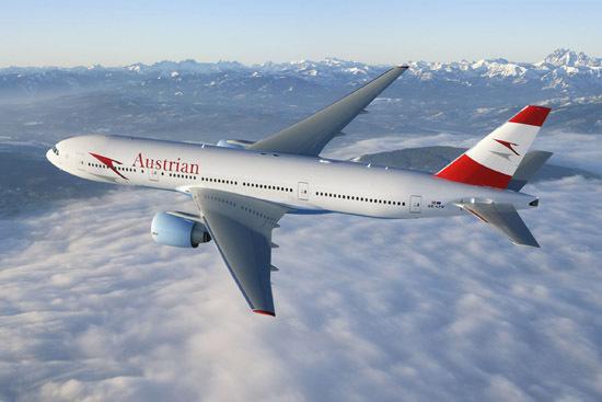 B777 de la compagnie Austrian Airlines - DR Austrian Airlines