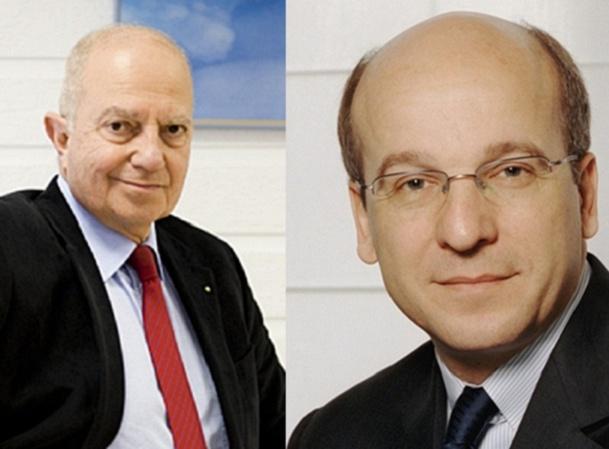 Raoul Nabet (à gauche), Président de l'APST, et Richard Vainopoulos (à droite), Président de TourCom, ne sont pas d'accord au sujet des cotisations 2015 - Photos DR