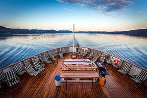 Le MS Nordsterjernen sera de retour dans le Spitzberg pendant l'été 2015 - DR : Hurtigruten